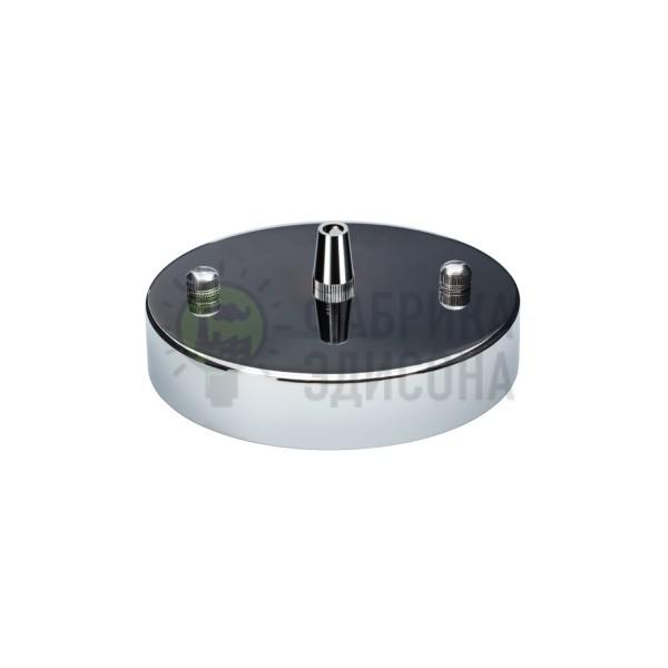 Потолочный крепеж Puck Chrome с заглушками