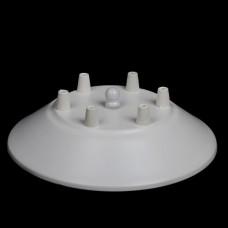 Потолочный крепеж для паука на 6 отверстий белый
