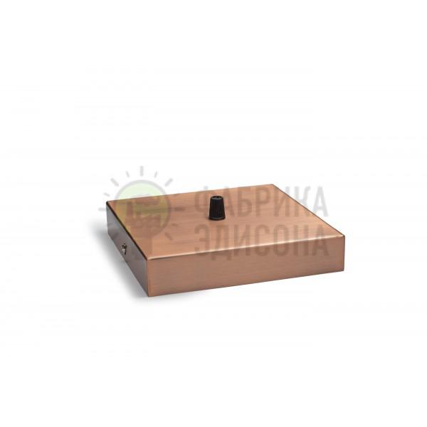 Квадратний стельовий кріплення L160 Red Bronze