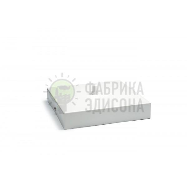 Квадратный потолочный крепеж L160 White