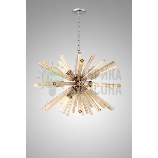 Люстра VINTAGE Sputnik Amber glass