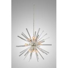 Люстра VINTAGE Sputnik Clear glass
