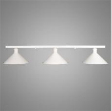 Потолочный светильник White на три лампы