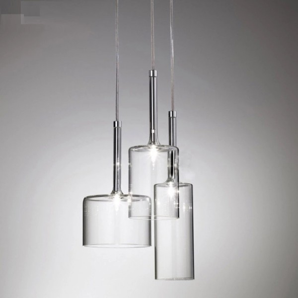 Підвісний світильник Clear Glass Pendant