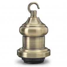 Вінтажний патрон з гачком Bronze