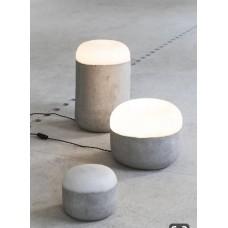 Светодиодная настольная лампа из бетона Stone ABC