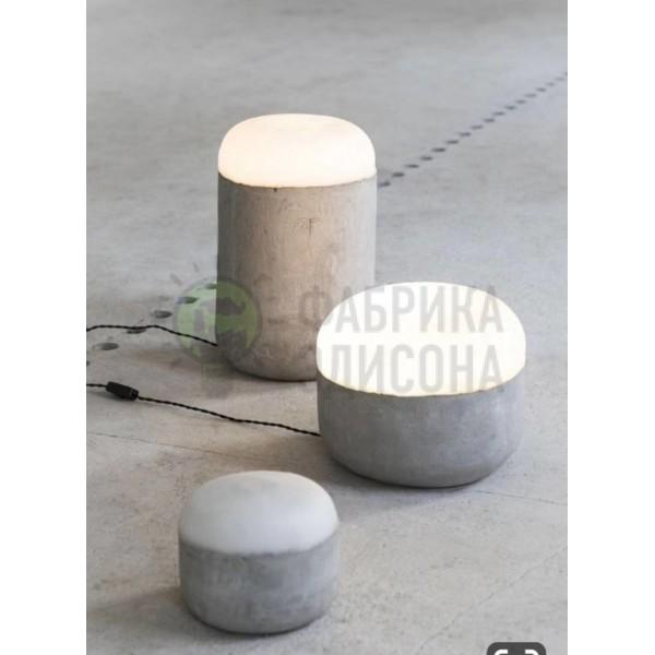 Бетонний нічник Stone ABC