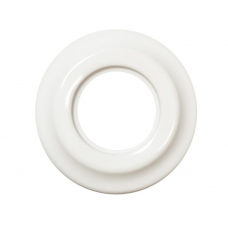 Рамка керамическая одинарная Белого цвета