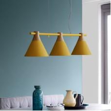 Люстра в скандинавской стиле Три Аккорда Yellow