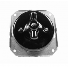 Механизм для керамічного вимикача чорного прихованого монтажу