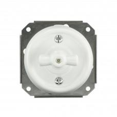 Механизм для керамічного вимикача білого прихованого монтажу