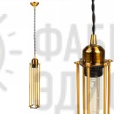 Подвесной светильник Gold Portrait Cage Momo