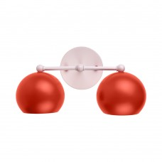 Настенный светильник  Double Red Emphasis