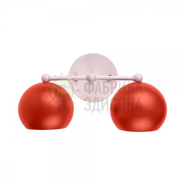Настінний світильник Double Red Emphasis