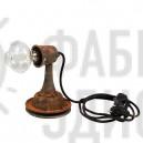 Настольная лампа в стиле лофт RUST