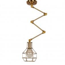 Потолочный светильник Expanding Gold cage
