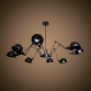 Люстра Лофт паук на 8 ламп