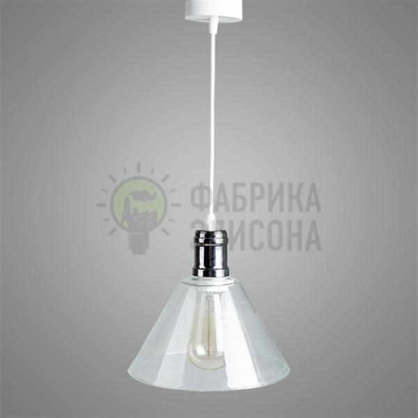 Підвісний світильник Clear Glass Cone