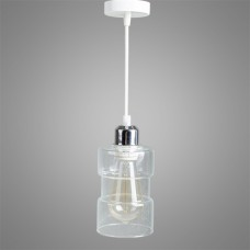 Подвесной светильник Clear Glass Bottle