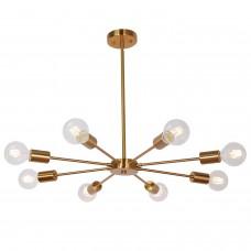 Люстра Sputnik Chandelier Gold 8 Lights