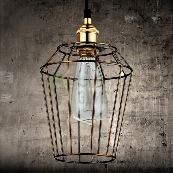 Підвісний світильник Gold Cage 1