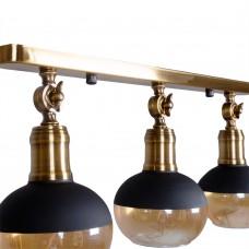 Потолочный светильник KinkAmber Round 3
