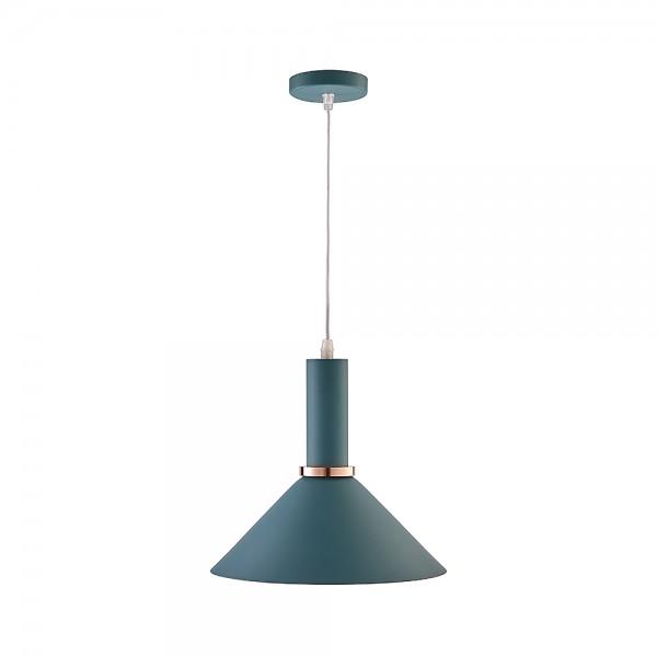 Подвесной светильник Roro Cone Gray green