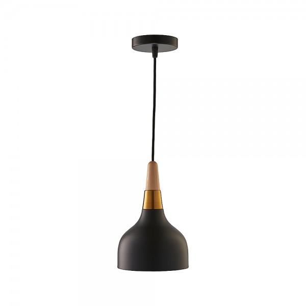 Підвісний світильник Gold Wood Black