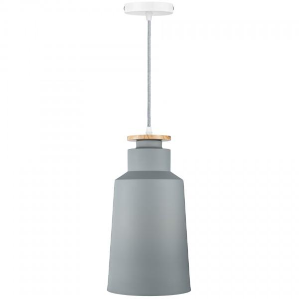 Подвесной светильник Nordic Cylinder Gray