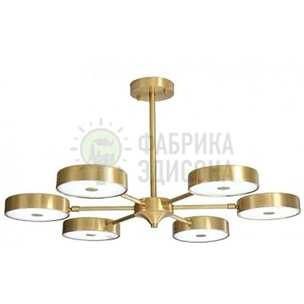 Люстра Floro 6 Copper
