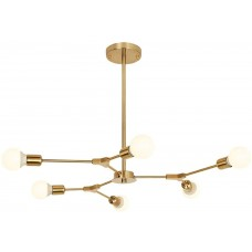 Люстра Sputnik 6 Lights Gold