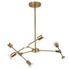 Люстра Modern Sputnik 6 Gold