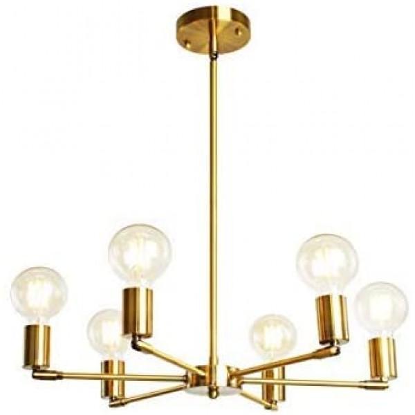 Люстра Modern Gold Sputnik 6 Lights