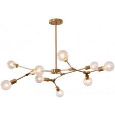 Люстра Sputnik 9 Lights Gold