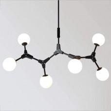 Люстра Molekul 6 Black