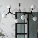Люстра Molecules 6 Black