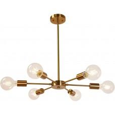 Люстра Sputnik Chandelier Brass 6 Lights