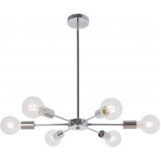 Люстра Sputnik Chandelier Chrome 6 Lights