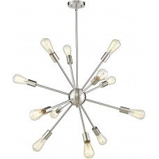 Люстра Sputnik Starburst 12 Light Silver