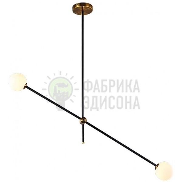 Люстра Sputnik Glass Globe 2-Light