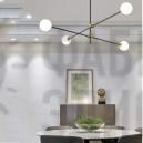 Люстра Sputnik Glass Globe 4-Light