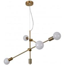 Люстра Sputnik Industrial 4 Gold