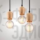 Люстра-павук Open Bulb 12 Light