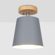 Потолочный светильник Flevel Cylinder Gray