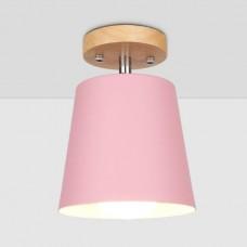Потолочный светильник Flevel Cylinder Pink