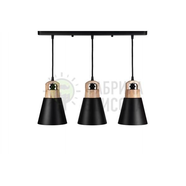 Люстра Fano 3 Black