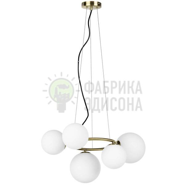 Люстра Light Globo 5 Brass