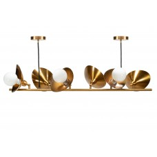 Люстра в стиле модерн Petals 6 Gold