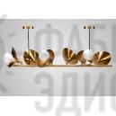 Люстра Petals 6 Gold