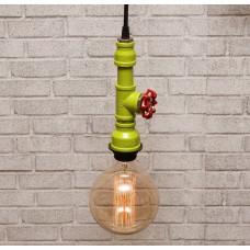 Подвесной светильник из труб Maki Green